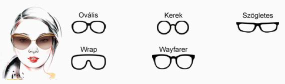 Napszemüveg kerek arcformához