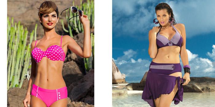 Pin up fazonú bikini