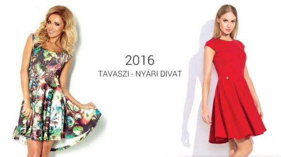 2016-os tavaszi / nyári női ruha trendek